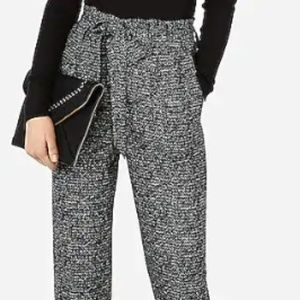 NWT Express High Waisted Printed Ankle Pant